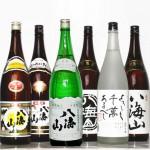八海山限定6種飲み比べセット(八海山日本酒5種・焼酎)1800mlx6本
