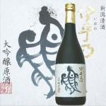 伊乎乃(いおの)ちょっと贅沢にお酒を楽しみたい・・大吟醸生原酒 越の初梅 伊乎乃720ml贈答箱入り